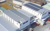 松前工場 太陽光設備(100kw)